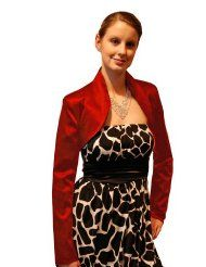 Kaufen Neu: EUR - EUR [Available In Germany] Bekleidung: Satin Bolero schwarz Satin Bolero, Animal Print Fashion, Civil Wedding, Peplum Dress, Wedding Inspiration, Two Piece Skirt Set, Bridal, Formal Dresses, My Style