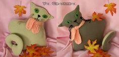 Cat pillow/ cat toy/handmade/fleece pillow/cat shaped by YaGrashka