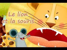 Le Lion et la Souris - YouTube