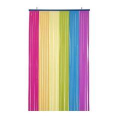 New Rainbow Ikea Vitaminer Drape Curtain Decor Child Safe Gay Youth Center GLBT