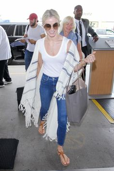 Julianne Hough Street Style – LAX Airport in Los Angeles 06/21/2017