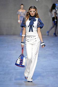 Would so wear this. Nautical Fashion