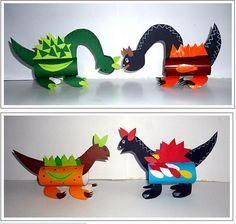 wunderbare-en … - Top Of The World Dinosaur Projects, Dinosaur Activities, Dinosaur Crafts Kids, Preschool Crafts, Fun Crafts, Paper Crafts, Dinosaur Party, Dinosaur Birthday, Animal Crafts For Kids