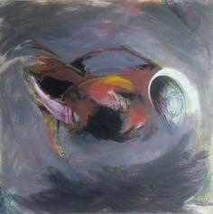 """""""Succubus"""", 2015, Oil on Canvas, 42"""" x 42.5"""""""