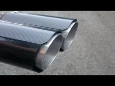 ★DIY★ - Carbon Fiber (look) Exhaust tips - YouTube