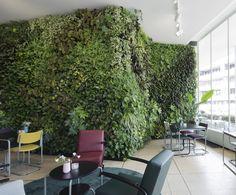 Vertical Garden Green Fortune, Plantwall At Hotel Gooiland, Netherlands.