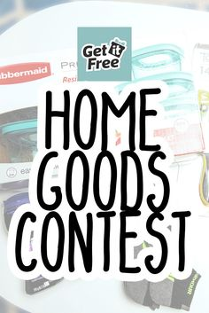 Win a Home Goods Package!