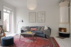 Täydellinen vaalea boho olohuone, Alvhem Nørrebro Summers - Blogi | Lily.fi