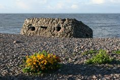 Pillbox on Porlock Weir Beach (anti invasion defense from WW2)