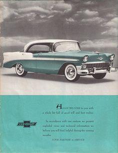 1956 Chevrolet BelAir Ad.