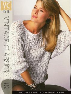 Great knit for spring - easy and textured