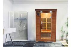 Sauna Infrarouge LUXE 2 Personnes Profitez de notre prix exceptionnel de 1709€ sur lekingstore.com Contactez nous au 01.43.75.15.90 Sauna Infrarouge, Saunas, Tall Cabinet Storage, Divider, Spa, Room, Furniture, Home Decor, Spirit