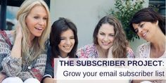 Learn how to better grow your email subscriber list by following my personal Subscriber Project. Content Marketing Strategy, Marketing Communications, Marketing Plan, Business Storytelling, Storytelling Techniques, Business Stories, Public Relations, Digital Marketing, Blogging