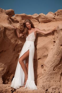 """Beautiful """"Jenny"""" gown from our S/S 2021 bridal collection. We invite you all to see the entire new collection in our website: www.ohadkrief.com Couture Wedding Gowns, Wedding Dresses, Young Fashion, Bridal Collection, Evening Gowns, Invite, Website, Inspiration, Beautiful"""