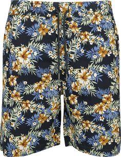 Pattern Resort Shorts - Urban Classics - Shortsit. Patterned Shorts, Urban, Tv, Classic, Fashion, Derby, Moda, Printed Shorts, Fashion Styles