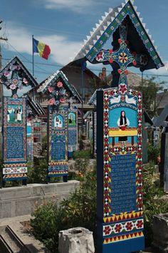 The Merry Cemetery, Sapanta, RO