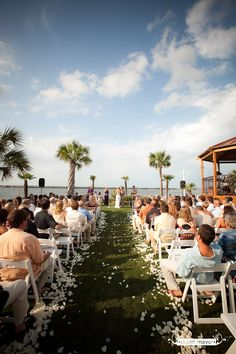 What a picturesque wedding ceremony captured by @Dustin Meyer