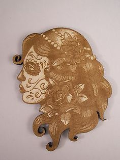 Sugar-Skull-Girl-Day-of-the-Dead-Calavera-Laser-Cut-Wood-Shapes
