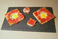 ¿Qué tal estas tapas con jamón para salir de la rutina?   #RecetaDeTapas #CocinaEspañola #RecetasEspañolas #ComidaEspañola #Tapas #UnaReceta