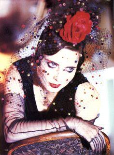 Isabella Rossellini by Ellen Von Unwerth for Vogue US, 1993