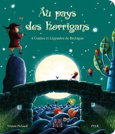 Un album de 4 contes breton illustré avec brio par Pylb et écrit par Tristan Pichard. http://www.locus-solus.fr/produit/48/9782368340318/Au%20pays%20des%20korrigans?search_text=korrigans