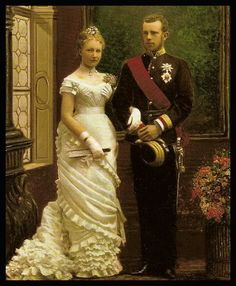 Archduke Rudolf and Princess Stephanie of Belgium