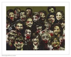 All my zombie friends