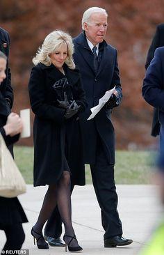 Vice President Joe Biden and wife Dr. Jill Biden