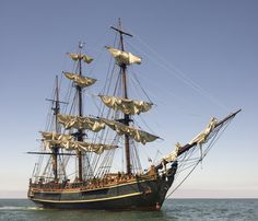 Un barco de 1670.
