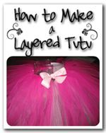 How to make a layered tutu