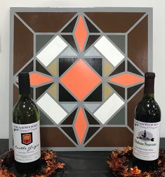 We have barn quilt painting classes - Wine & Sign