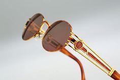 c10b9e2e82de Fendi Mod SL 7031 Col 123   Vintage sunglasses   NOS   90s Oval Sunglasses