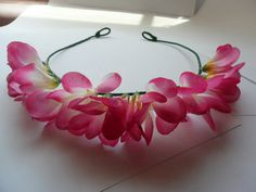 Fun In Hawaii Flower Crown/ Headband by FLOWERCROWNTOWNS on Etsy, $12.00