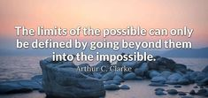 The limits of the possible...