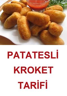 yummy potato croquette recipe which is very easy to make . yummy potato croquette recipe which is very easy to make . Potato Recipes, Beef Recipes, Soup Recipes, Cooking Recipes, Croquettes Recipe, Potato Croquettes, Healthy Eating Tips, Healthy Nutrition, Food Articles