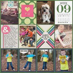 Project Life 2014 Week 9 Right - Scrapbook.com