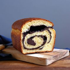 Chocolate Swirl Brioche Recipe on Food52 recipe on Food52