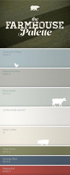29 Ideas Farmhouse Style Living Room Paint Colors Kitchen Cabinets For 2019 Farmhouse Paint Colors, Kitchen Paint Colors, Paint Colors For Living Room, Paint Colors For Home, Bathroom Colors, Farmhouse Color Pallet, Bathroom Ideas, Bathroom Makeovers, Colour Schemes For Living Room Warm