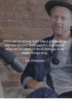 Jon Foreman — Sounds Like a Movement
