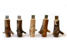 OOOMS Wooden USB Stick