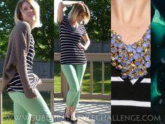 Random Outfits: June - Mint Jeans