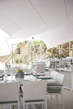 Atzaro Beach, stylish beach restaurant by famed Agroturismo