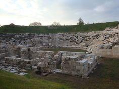 Larisa, Greece - Ancient theater ΛΑΡΙΣΑ - To αρχαίο θέατρο στο κέντρο της πόλης
