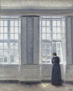 Les intérieurs énigmatiques de Vilhelm Hammershøi