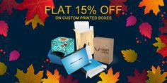 Get Flat 15% Discount till Thanksgiving Day on All Custom Boxes Orders. With Free Shipping and Free Design Support. For more info: Call: 888-851-0765 Email: support@thecustompackaging.com Custom Printed Boxes, Custom Boxes, Custom Packaging, Box Packaging, Free Design, Thanksgiving, Free Shipping, Flat, Logos
