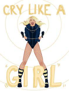Cry like a girl #dc