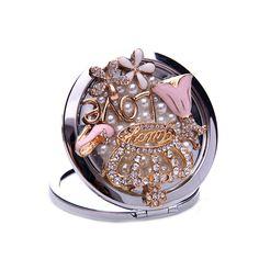 Generic Cosmetic Mirror for Women Makeup Make Up Mirror Queen Beautiful Girls Decoration