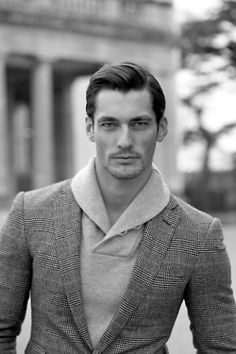GQ JAPAN:   Photographer: Arnaldo Anaya-Lucca / Fashion Editor: Paul Mather / Model: David Gandy