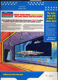 Shreddies, Star Wars Action Transfer and Battle Scene (#4: Escape from the Death Star) - Star Wars Collectors Archive