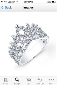 Crown ring for my princesses